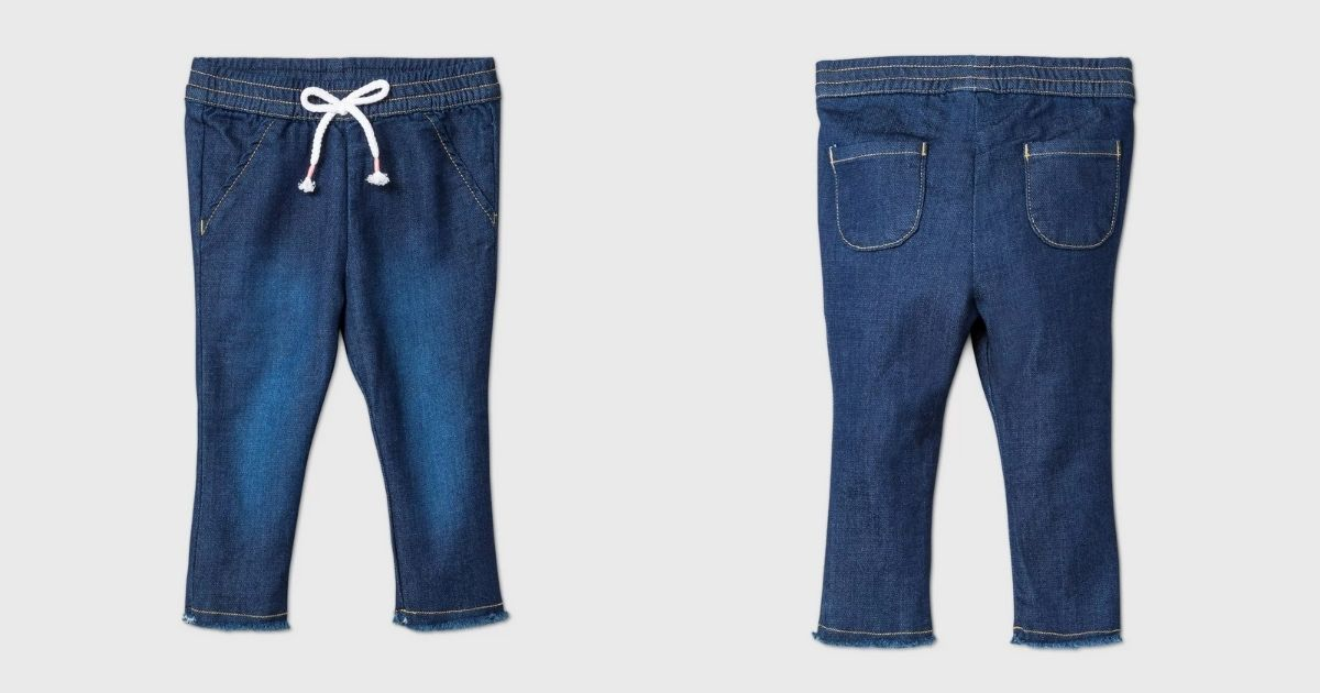 stock images of baby jeans