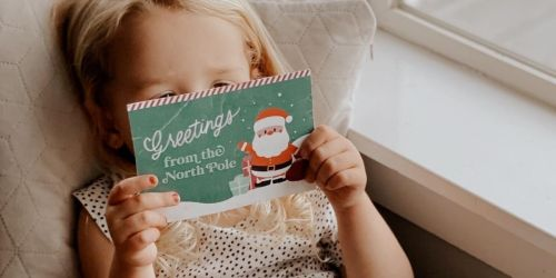 Free Personalized Postcard from Santa for Your Kiddos