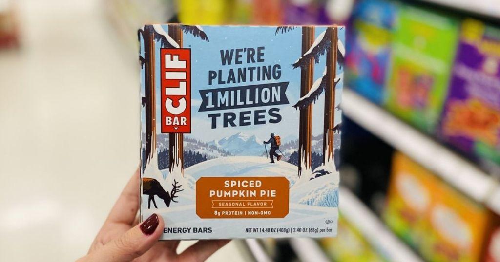 Clif Spiced Pumpkin Pie Bar 6-Pack