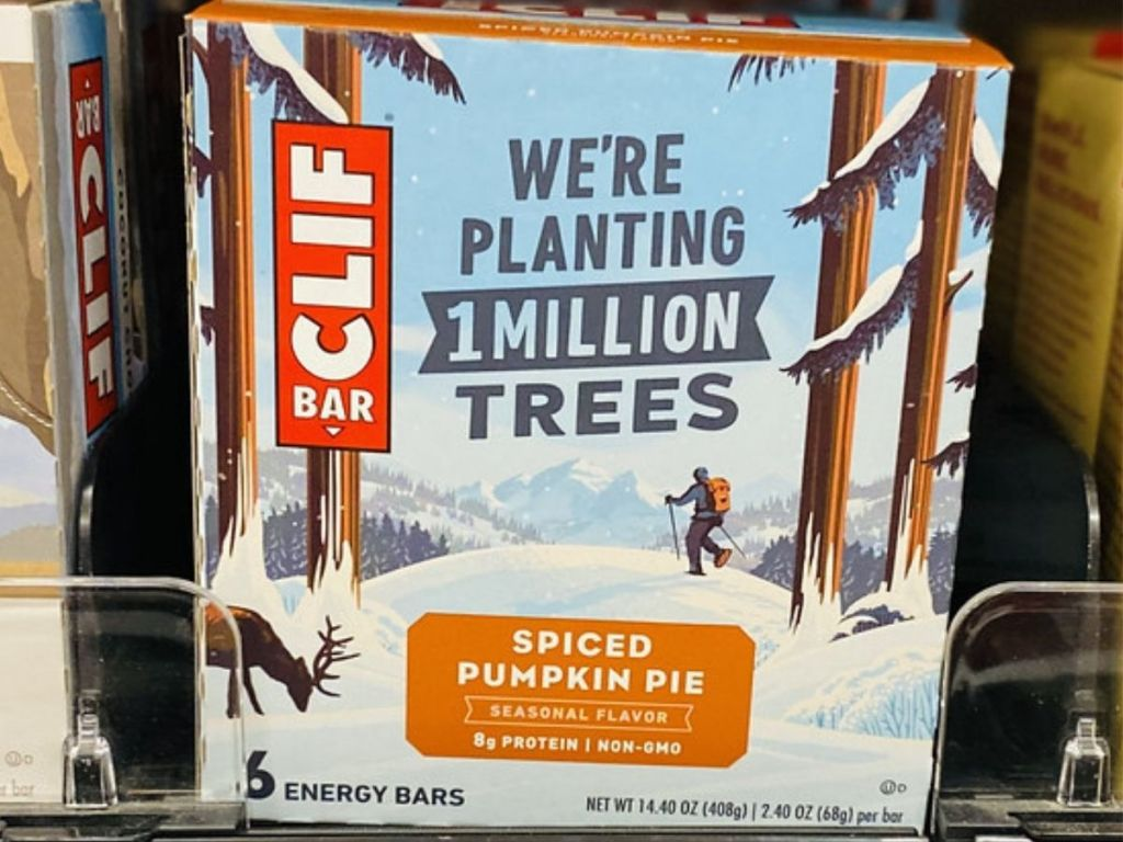 Clif Spiced Pumpkin Pie Bars 6-Pak