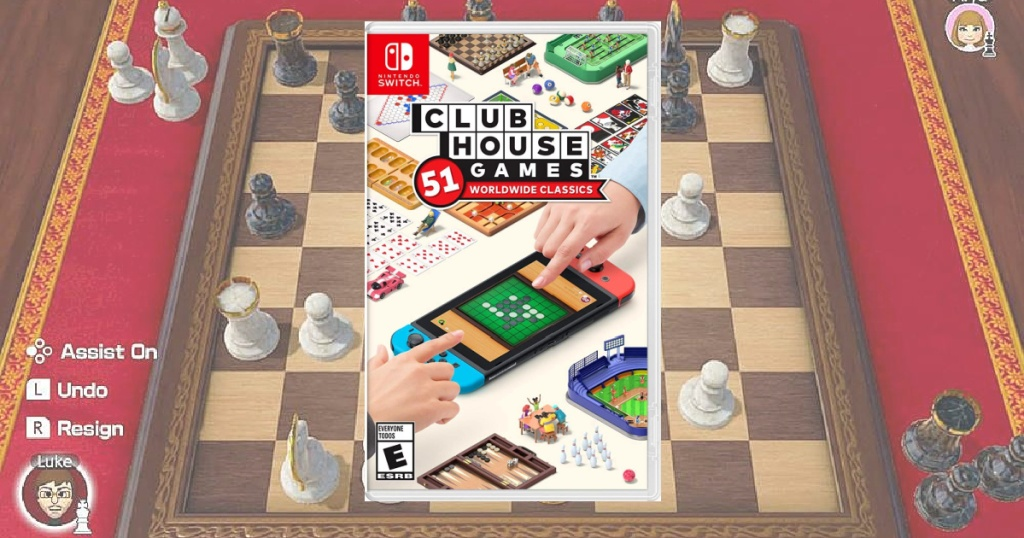 Clubhouse Games: 51 Worldwide Classics Nintendo Switch Game