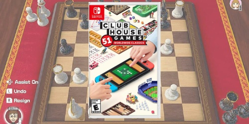 Clubhouse Games: 51 Worldwide Classics Nintendo Switch Game Only $29.99 (Regularly $40)