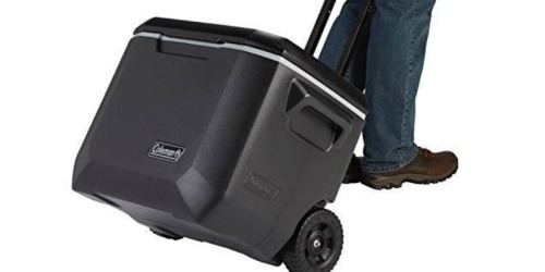 Coleman 50-Quart Cooler w/ Wheels Only $26.83 on Walmart.com (Regularly $49)