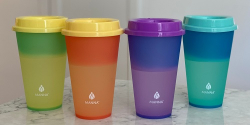 Color-Changing Tumblers w/ Lids 12-Pack Only $11.99 at Costco