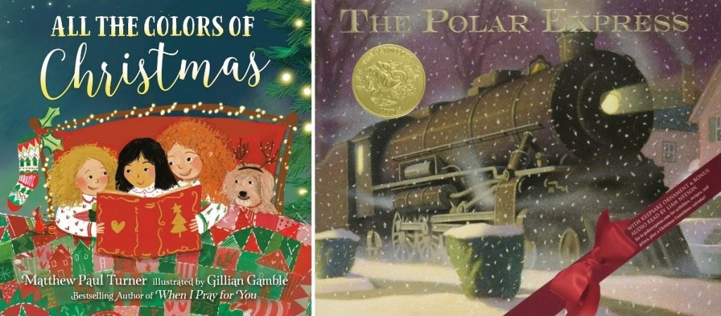 Colors of Christmas and Polar Express books