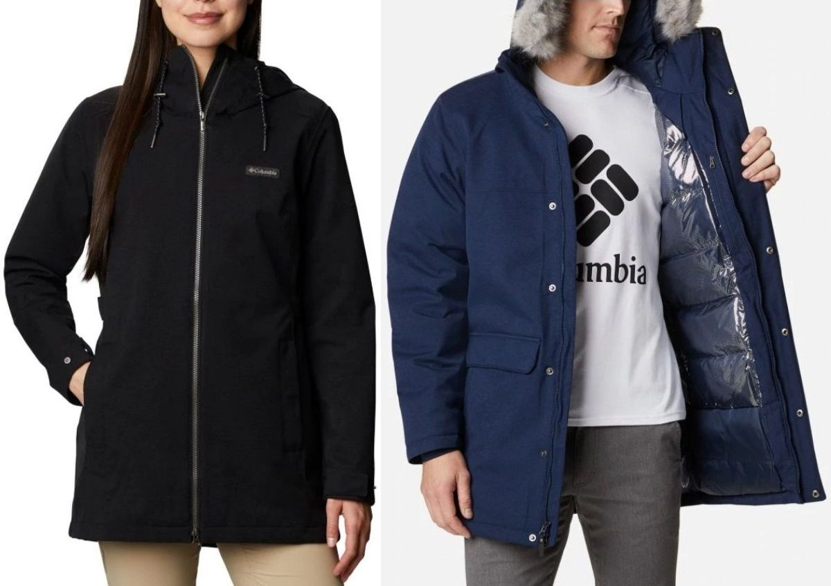 Columbia Womens and Mens Jackets
