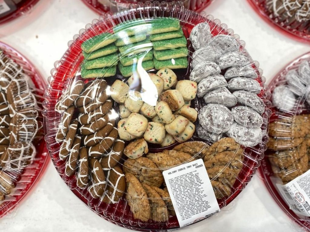 Costco Holiday Cookie Tray