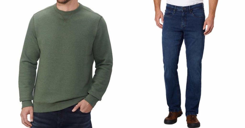 Sweater dan Jeans Pria Costco