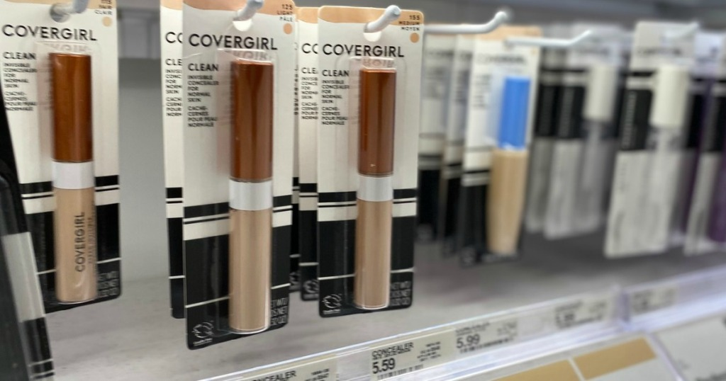 CoverGirl Concealers hanging in Target