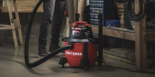 Craftsman 6-Gallon Wet/Dry Vacuum Only $29.99 on AceHardware.com (Regularly $60)