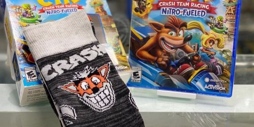 Crash Team Racing Nitro-Fueled PlayStation 4 or Xbox One Bundles from $13.97 on GameStop.com (Regularly $22+)