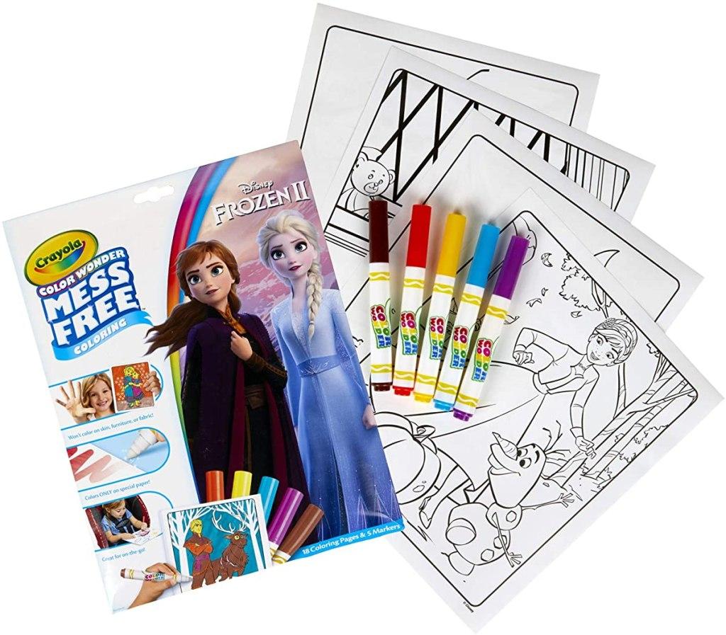Crayola Color Wonder Frozen set