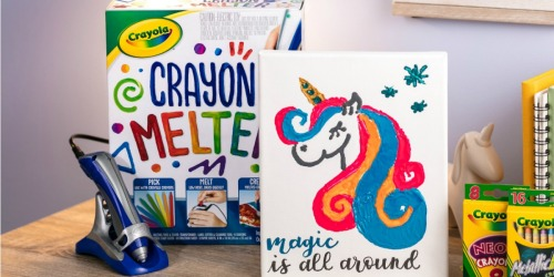 Crayola Crayon Melter Just $9.97 on Amazon (Regularly $19)