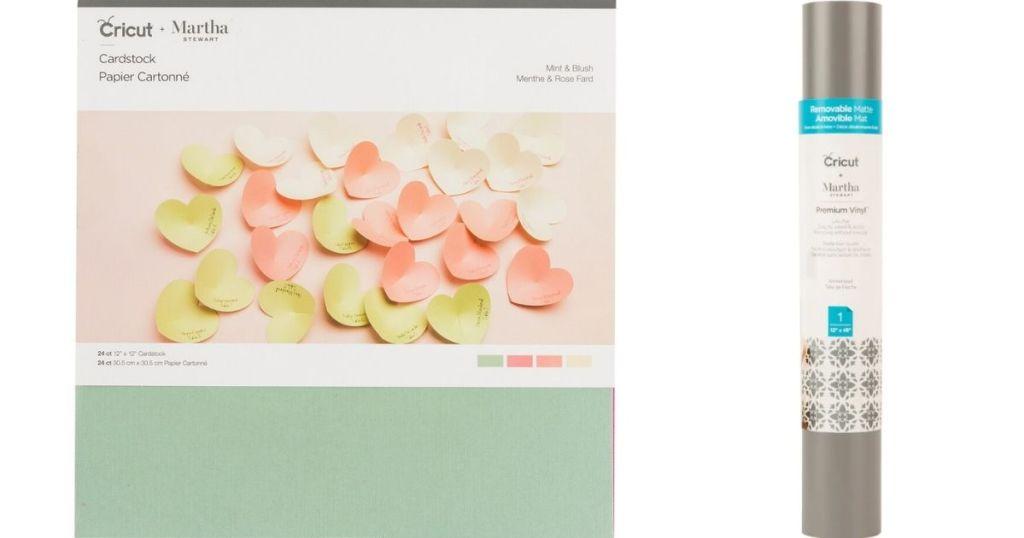 Cricut Martha Stewart Paper and Vinyl