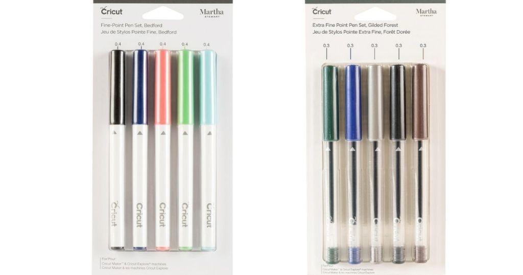 two packs of Martha Stewart pens