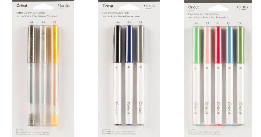 Cricut Martha Stewart Pen packs
