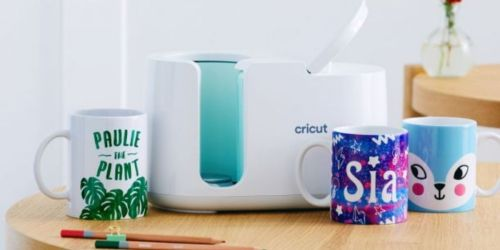 Cricut Mug Press Just $179.99 Shipped (Regularly $200) | Create Professional Quality Custom Mugs