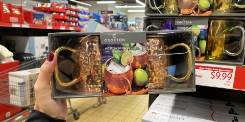 Crofton Moscow Mule Mugs 2-Pack Gift Set Only $9.99 at ALDI