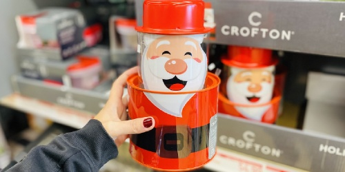 Holiday Tins Only $4.99 at ALDI | Santa, Snowman, & Reindeer