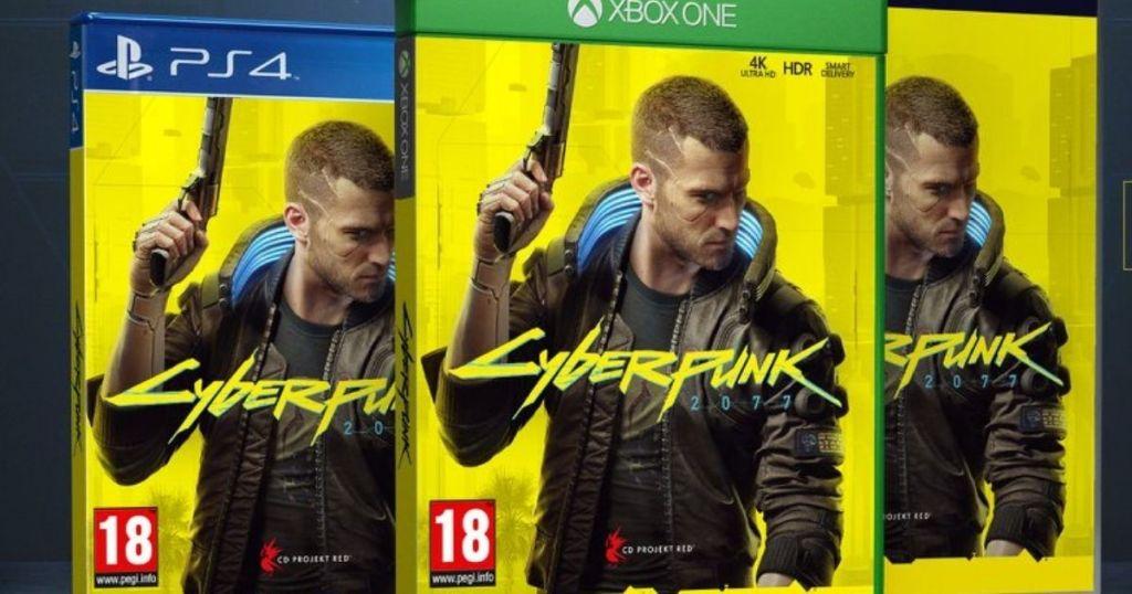 Sampul game Cyberpunk 2077