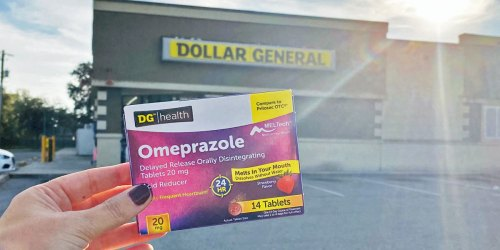 Two Week Regimen for Frequent Heartburn Only $7 at Dollar General (Just 50¢ Per Tablet!)