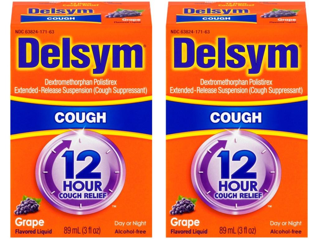 Delsym 3-Ounce Grape Flavour Adult Cough Suppressant Liquid