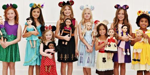 Disney Princess Inspired Dresses for Girls & Dolls from $12.99 Shipped (Arrives Before Christmas!)