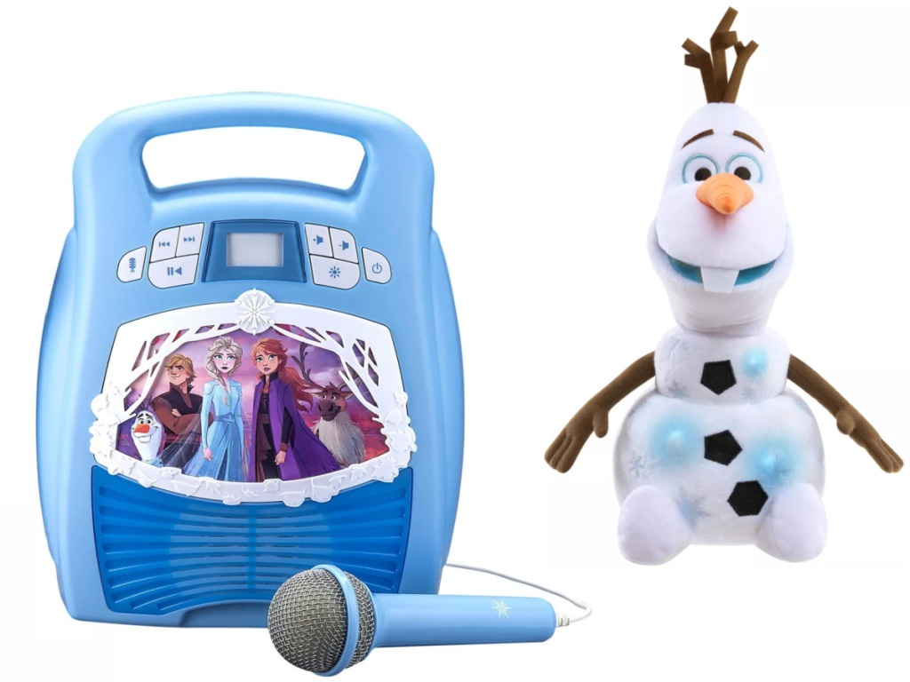 disney frozen 2 karaoke and talking olaf
