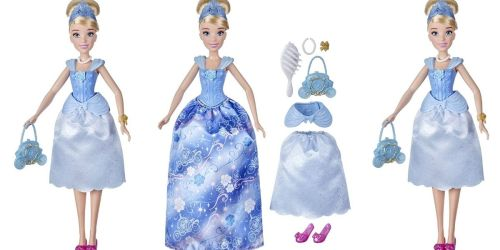Disney Princess Cinderella Doll w/ Accessories Only $8.49 on Amazon (Regularly $20)