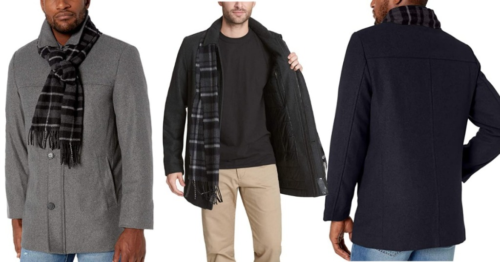 Docker's Mens Wool Coat
