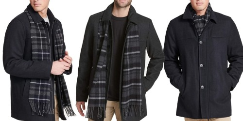 Dockers Men's Coat & Scarf Set from $16.86 on JCPenney.com