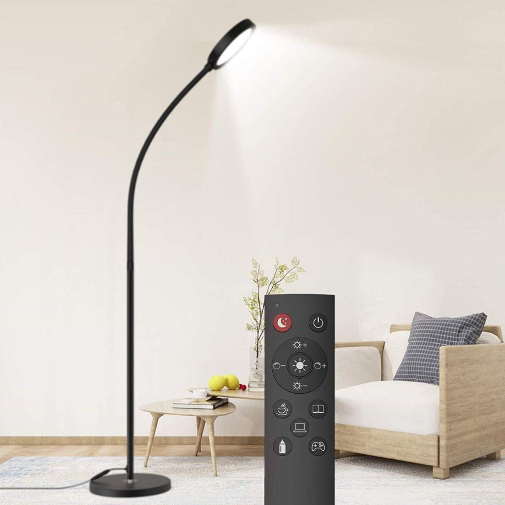 lampu lantai dan remote