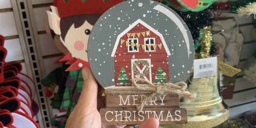 Christmas Decor Only $1 at Dollar Tree | Wall Art, Yard Signs, Light-Up Lanterns & More