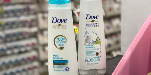 Dove Shampoo & Conditioner Only $1 Each After CVS Rewards (Regularly $5)