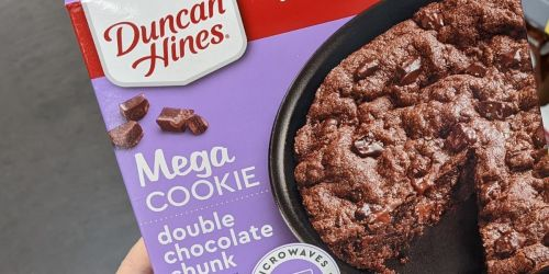 Duncan Hines Double Chocolate Chunk Mega Cookie Only $1.87 Shipped on Amazon