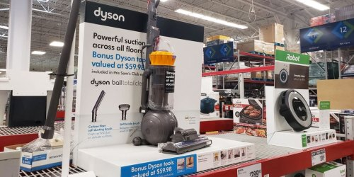 Dyson Ball Total Clean Vacuum Only $189.98 Shipped for Sam's Club Members (Regularly $290)