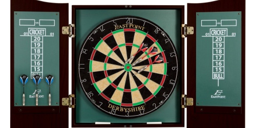 EastPoint Dartboard w/ 6 Deluxe Steel Tip Darts Just $34.97 on Walmart.com (Regularly $90)