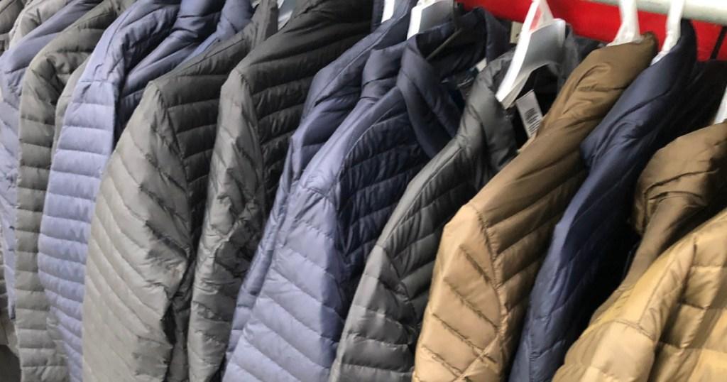 eddie bauer men's puffer jackets
