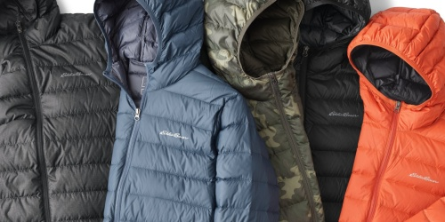 Eddie Bauer Down Jackets for the Family from $19.99 Shipped (Regularly $80+)