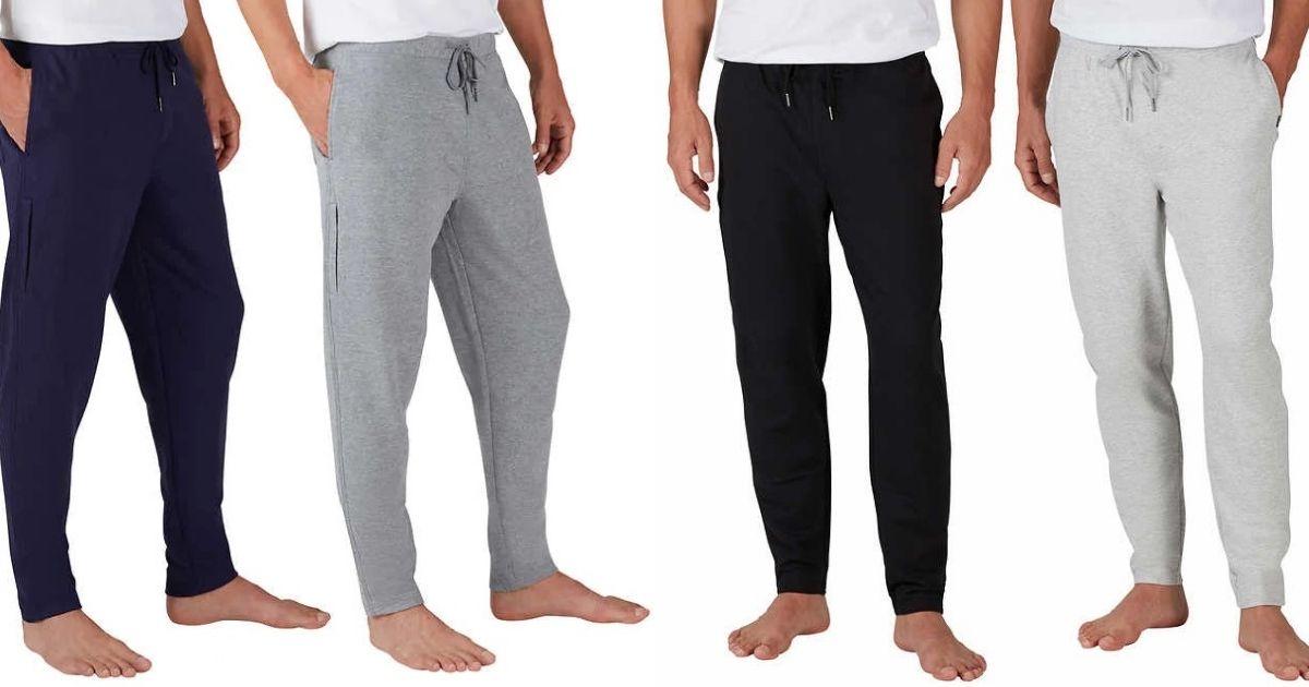 NEW 2-Pack Eddie Bauer Men/'s Sweatpants Jogger Lounge Sweat Pants PICK SIZE