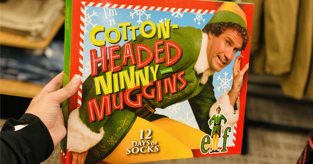 Elf 12 Days of Socks Advent Calendar