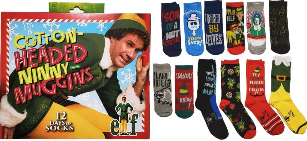 Elf Socks Advent Calendar