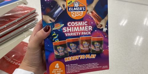 Elmer's Gue Premade Slime Variety 4-Pack Only $7.49 at Target (Regularly $15)