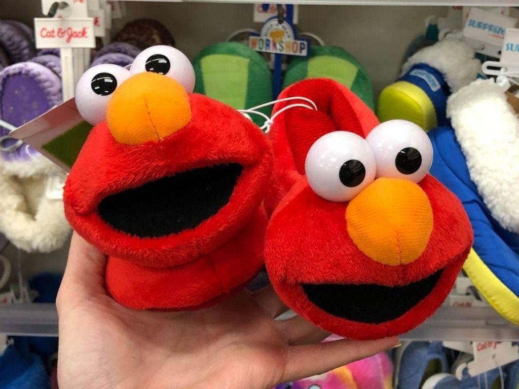 Elmo Slippers