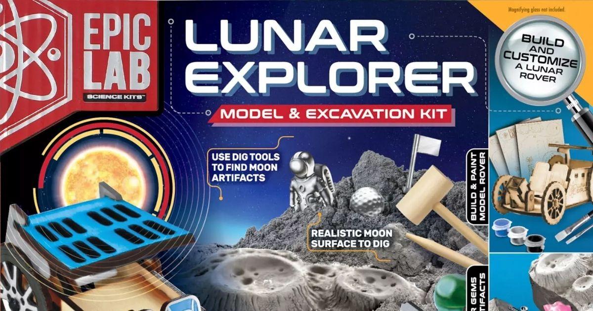 Epic Labs Lunar Explorer STEM Kit Box