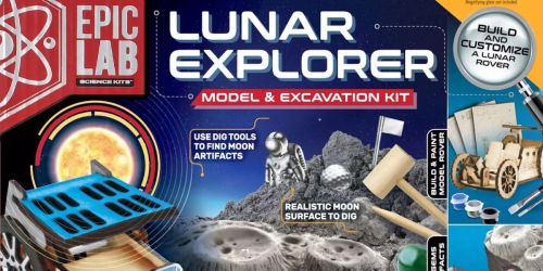 Epic Lab Lunar Explorer STEM Kit Only $9.98 on SamsClub.com