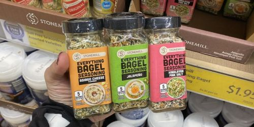 3 NEW Everything Bagel Seasonings at ALDI | Perfect For Dips, Eggs, Breads & More
