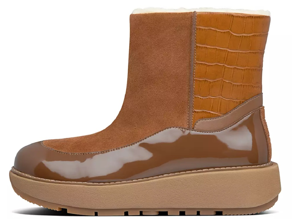 women's brown fitflop boots