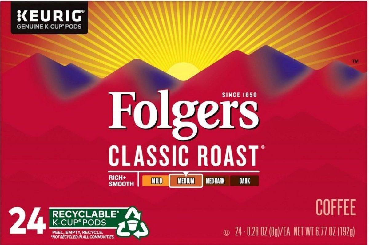 Folger 24-count k-cups