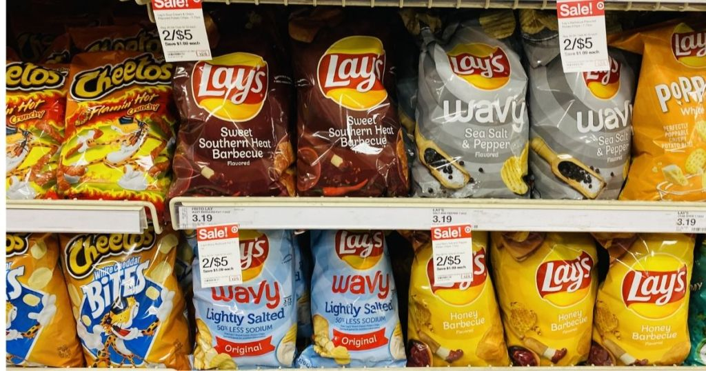 Frito-Lay Snacks Lays on Target Shelf